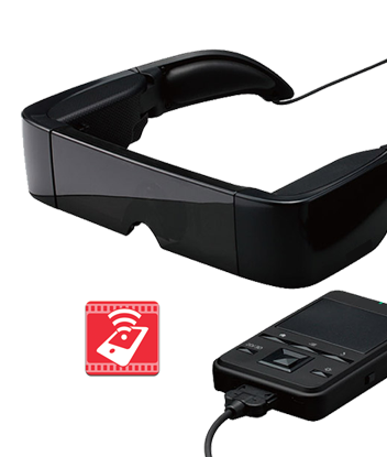 accesible glasses: Whatscine allows people with some kind of visual or hearing impairments enjoy the cinema experience, without interfering with the audio and video from other viewers, thanks to special glasses and an app for your smartphone ...