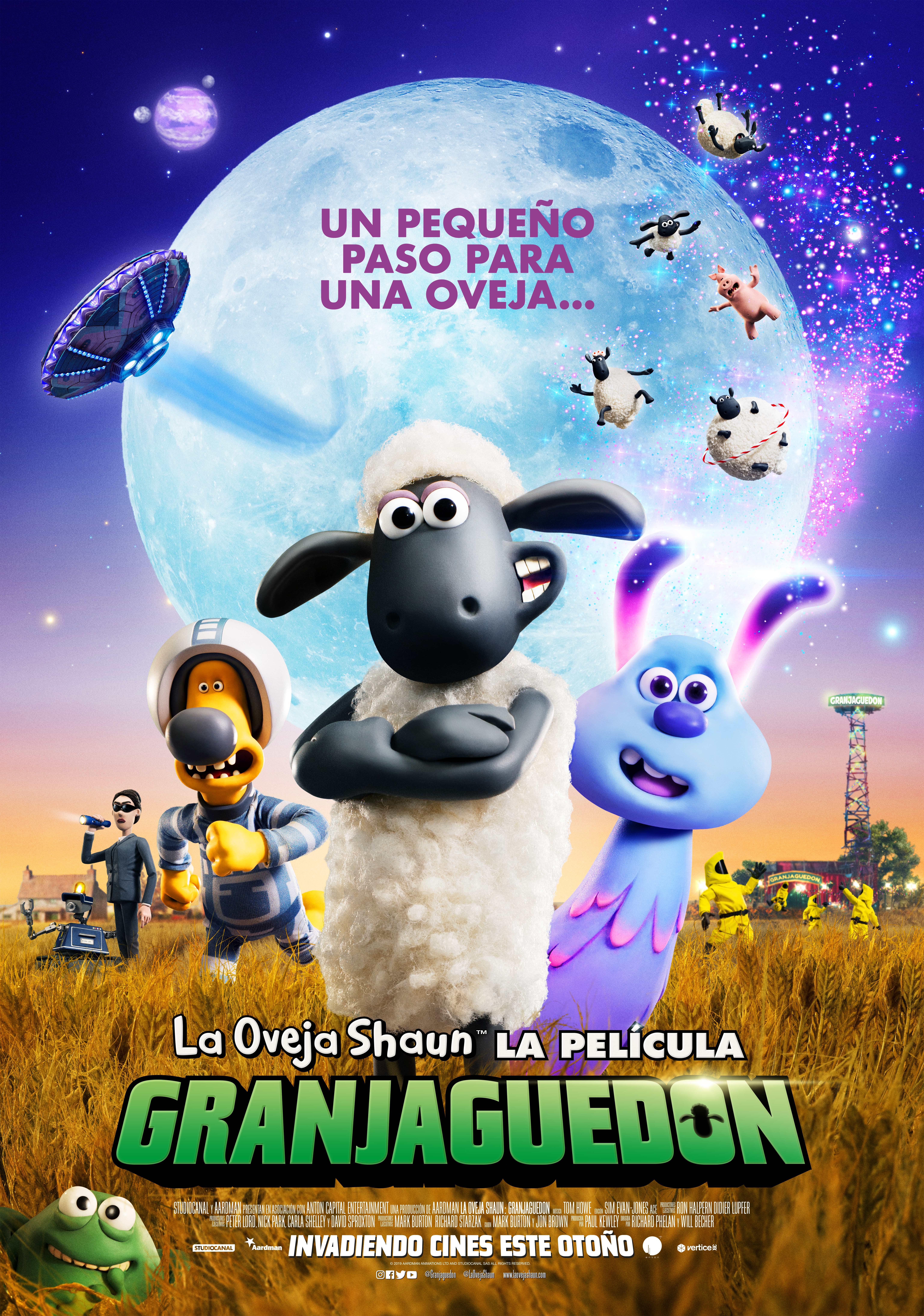 La oveja Shaun, la pelicula: GRANJAGUEDON