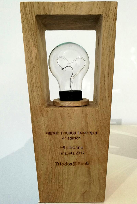 WhatsCine finalista en los premios Triodos Empresas